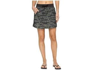 The North Face Class V Skort (Graphite Grey Painted Ikat Print