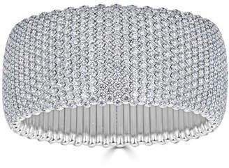 ZYDO 18k Large Stretch Diamond Bracelet