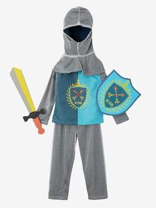 Knight Costume - blue dark solid with design