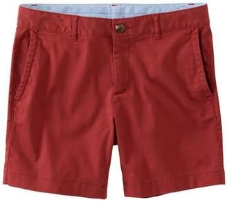 "L.L. Bean L.L.Bean Women's Washed Chino Shorts, 6"""