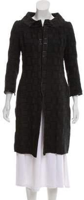 Tuleh Knee-Length Evening Coat