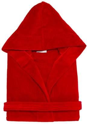 Mirko Terry Velour Hooded Bathrobe%100 Cotton Men's Women's Robe Best Gift for Her
