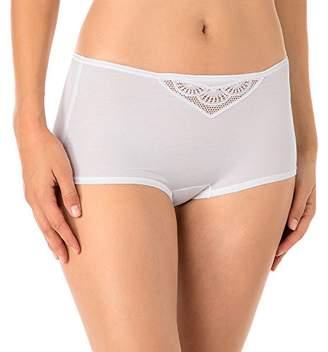 Calida Women's Panty Soft Favourites Boy Short - White - UK