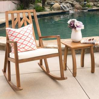 Mistana Madalyn 2 Piece Rocker Seating Group with Cushion