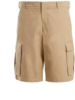 Martine Rose Cargo pocket cotton long shorts