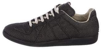 Maison Margiela Textured Replica Low-Top Sneakers
