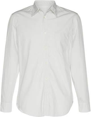 Maison Margiela Slim-Fit Cotton-Poplin Button-Up Shirt Size: 39