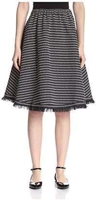 M. Patmos Women's Quintana Fringed Skirt