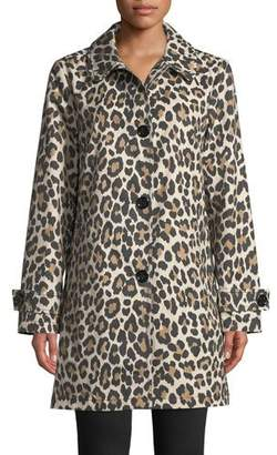 Kate Spade Leopard Print Transitional Jacket