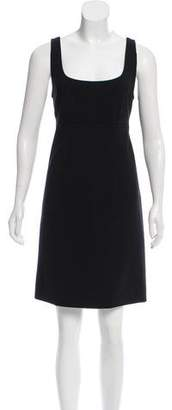 Marc Jacobs Sleeveless Wool Dress