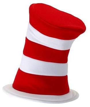 Elope 18272 Dr. Seuss Cat In The Hat Deluxe Hat Size One