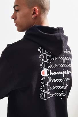Champion Stacked Eco Hoodie Sweatshirt