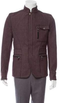 Gucci Wool Zip-Up Jacket