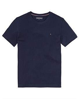 Tommy Hilfiger Boys Basic Knit S/S Tee (Boys 8-14 Years)