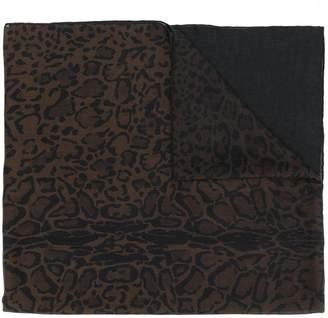 Salvatore Ferragamo leopard print scarf