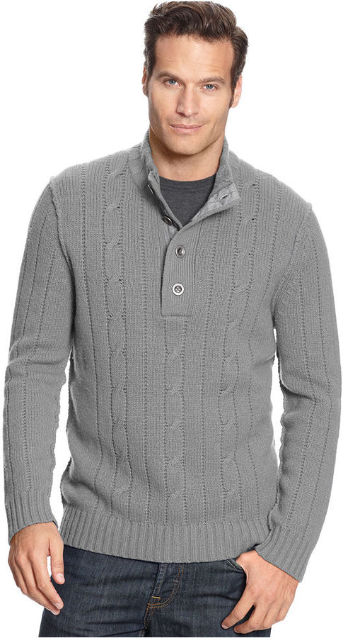 Tommy Bahama Sweater, Outer Banks Mock Neck Sweater