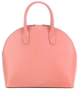 Mansur Gavriel Rounded leather top-handle bag