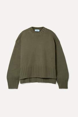 Prada Cashmere Sweater - Army green