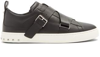 Valentino V-Punk low-top leather trainers
