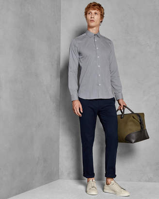 Ted Baker JENKINS Cotton geo print shirt