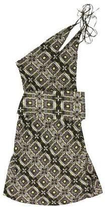 Antonio Berardi Sleeveless Printed Dress