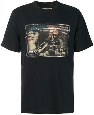 Barbour By Steve Mc Queen printed T-shirt