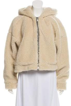 RE/DONE Faux Fur Hooded Jacket