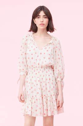 Rebecca Taylor Maui Fleur Dot Clip Dress