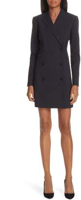 Theory Pinstripe Blazer Dress