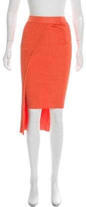 Ronny Kobo Rib Knit Bodycon Skirt w/ Tags