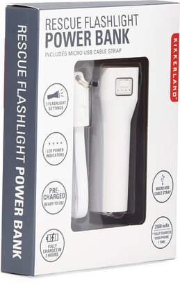 Kikkerland Rescue Flashlight Power Bank