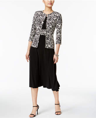 Jessica Howard Empire Dress & Printed Jacket $99 thestylecure.com