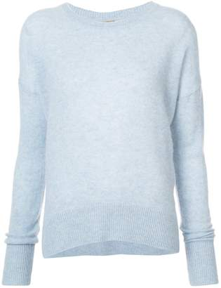 ADAM by Adam Lippes cashmere brushed pearl sweater