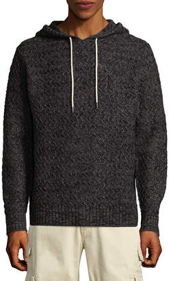 UNIONBAY Hooded Neck Long Sleeve Pullover Sweater