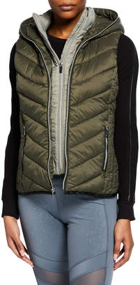 Marc Ny Performance Systems Hooded Puffer Vest