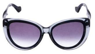 Balenciaga Oversize Cat-Eye Sunglasses