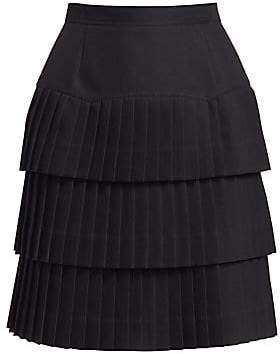 Calvin Klein Women's Tiered Ruffle Skirt