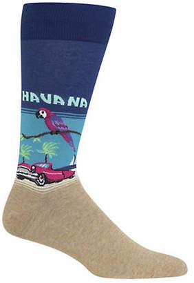 Hot Sox Havana Crew Socks