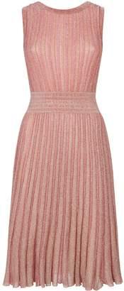 Missoni Pleated Striped Dress