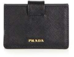 Prada Saffiano Leather Accordion Card Case