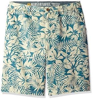 Margaritaville Men's Floral Shadow Printed Short