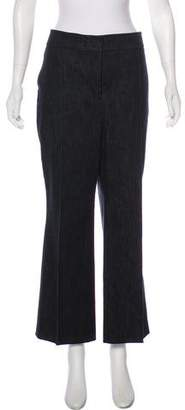 Akris High-Rise Crop Jeans