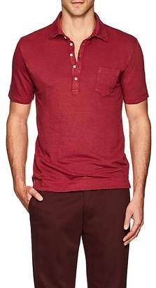 Massimo Alba Men's Linen Polo Shirt
