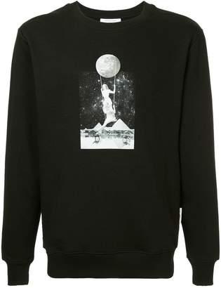 Les Benjamins Rapai photo print sweatshirt