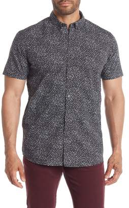 JB Britches Jester Short Sleeve Abstract Regular Fit Shirt