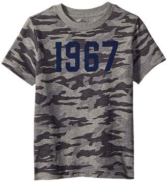 Polo Ralph Lauren Camo Cotton Jersey T-Shirt Boy's Clothing