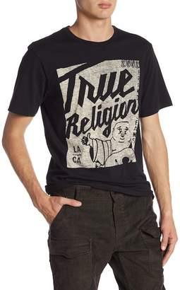 True Religion Tokyo Poster Short Sleeve Crew Neck Tee