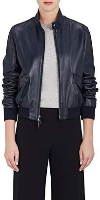 The Row Women's Ehrly Leather Bomber Jacket
