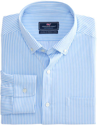 Vineyard Vines Performance Beach Street Stripe Classic Murray Shirt
