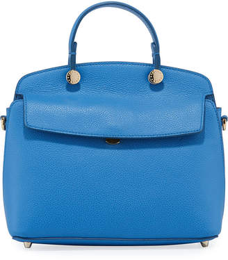 Furla My Piper Small Leather Top Handle Bag